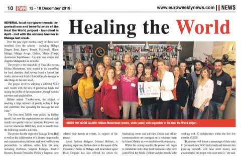 Healing the World – Euroweekly News